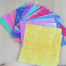 Iridescent Background Extra large 12.5 x 12.5cm Squares (50)