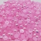 6mm Iridescent Half-pearls - Pale Pink (100 pack)