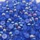 6mm Iridescent Half-beads - Royal Blue (100 pack)