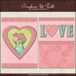 Download - Printable Cards - Pastel Love