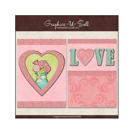 Download - Printable Cards - Pastel Love