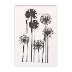 Clear Stamp - Dandelion Clocks (1pc)
