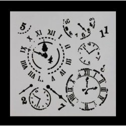 Reusable Stencil - Clocks (1pc)