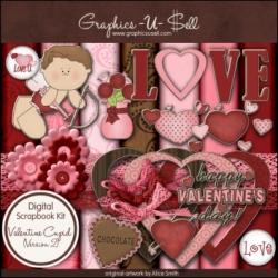 Download - Valentine Cupid 2 Digital Scrap Kit