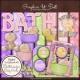 Download - Bathtime for Baby Girl Digital Scrap Kit