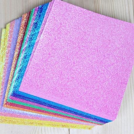 Iridescent Background Super large 14.5 x 14.5cm Squares (50)