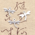 Metal Charms - Dragonflies (10)