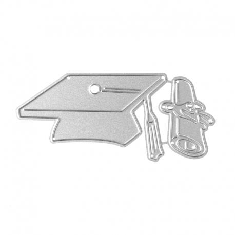 Printable Heaven dies - Graduation Cap & Scroll (2pcs)
