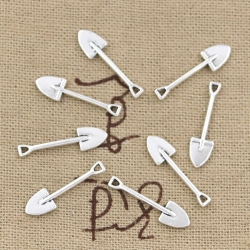 Metal Charms - Spades (16)