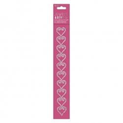 Gem Border Stickers - Hearts (PMA 356135)