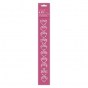 Gem Border Stickers - Hearts (PMA 356135)