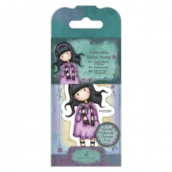 Collectable Rubber Stamp - Gorjuss No. 23, Little Song (GOR