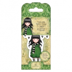 Collectable Rubber Stamp - Gorjuss No. 26, The Scarf (GOR