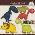 Download - Clip Art - Dinosaurs