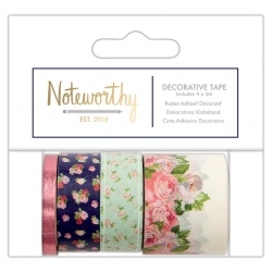 Decorative Tape (4x5m) - Graphic Florals (NOT 462103)