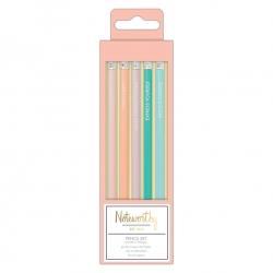 Pencil Set (5pcs) - Pastel Hues (NOT 856100)