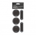 Chalkboard Stickers (20pcs) - Dotty Frames (PMA 355409)