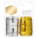 5m Sequin Ribbon (2pk) - Modern Lustre (PMA 367119)