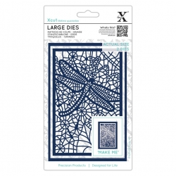 Large dies (2pcs) - Lace Dragonfly (XCU 503393)