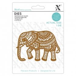 Dies (1pcs) - Indian Elephant (XCU 504146)