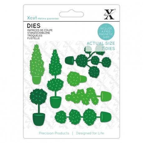 Dies (1pcs) - Topiary Set (XCU 504147)