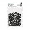 A6 Xcut Embossing Folder - Flower Curtain (XCU 515230)