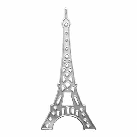 photo relating to Printable Eiffel Tower known as Printable Heaven die - Eiffel Tower (1computer)