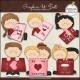 Download - Clip Art - Valentines Cards 1
