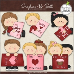 Download - Clip Art - Valentines Cards 1