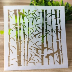 Reusable Stencil - Bamboo (1pc)