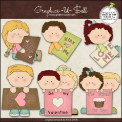 Download - Clip Art - Valentines Cards 2