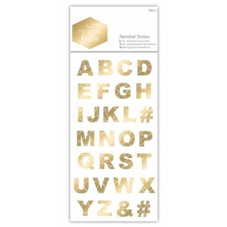 Alphabet Stickers - Modern Lustre (PMA 351007)