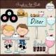Download - Clip Art - 50's Diner