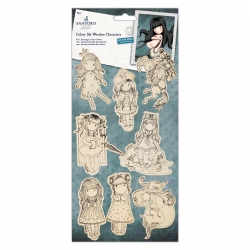 Colour Me Wooden Characters - Gorjuss (GOR 356105)