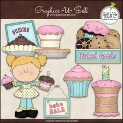 Download - Clip Art - Bake Sale