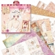 12 x 12 Paper Pack (32pk) - Santoro Willow (WIL 160100)