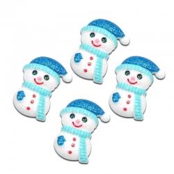 Resin Snowmen (10pcs)