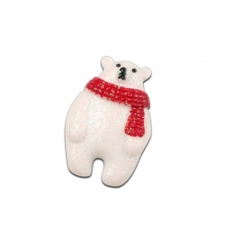 Resin Polar Bears (10pcs)