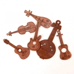 Wooden Musical Instruments (24pcs)