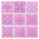 Medium Reusable Stencil 9 pack - Tiles (9pcs)