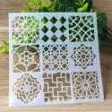 Reusable Stencil - Small Moroccan Tiles (1pc)