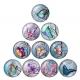 Glass Cabochons - Butterflies (10pcs)