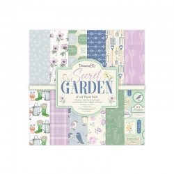 Dovecraft Secret Garden - 6x6 Paper Pack (DCPAP142)