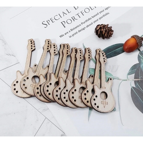 Wooden Guitars (10pcs)