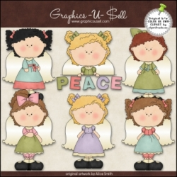 Download - Clip Art - Peace Angels