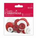 Assorted Buttons (50g) - Nordic Christmas (PMA 354397)