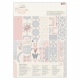 A4 Ultimate Die-cut & Paper Pack (48pk) - Moroccan Haze (PMA 160267)