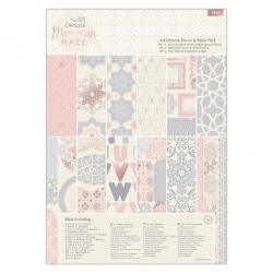 A4 Ultimate Die-cut & Paper Pack (48pk) - Moroccan Haze (PMA 160267)