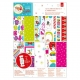 A4 Ultimate Die-cut & Paper Pack (48pk) - Love Santa (PMA 160954)