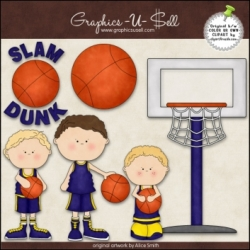 Download - Clip Art - Slam Dunk